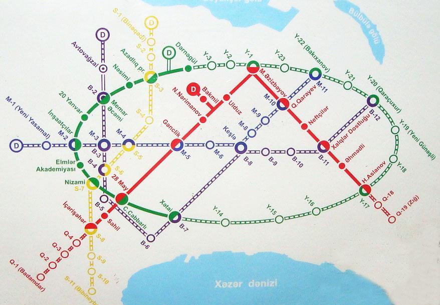 Sumqayıta və hava limanına metro xətti çəkilməyəcək - Deputata CAVAB