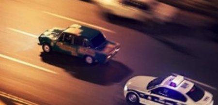Sumqayıtda yol polisinin reydində maraqlı anlar yaşanıb -VİDEO