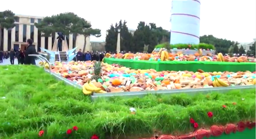 Sumqayıtda təşkil edilən Novruz bayramından hazırlanan VİDEOÇARX
