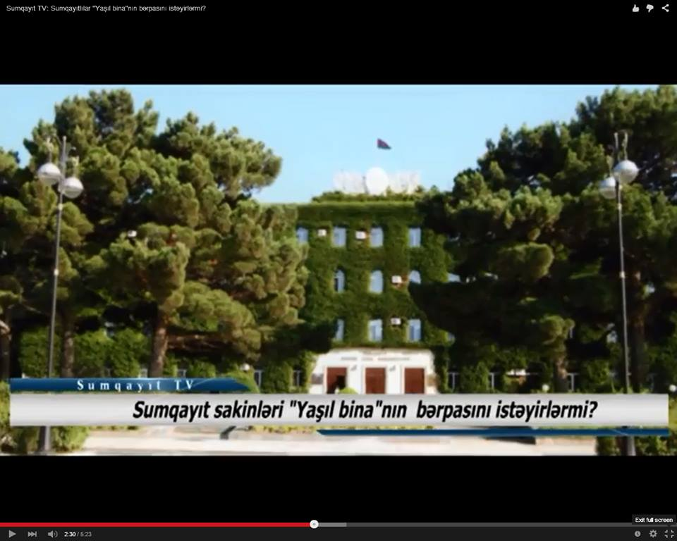 Sumqayıt TV: Sumqayıtlılar