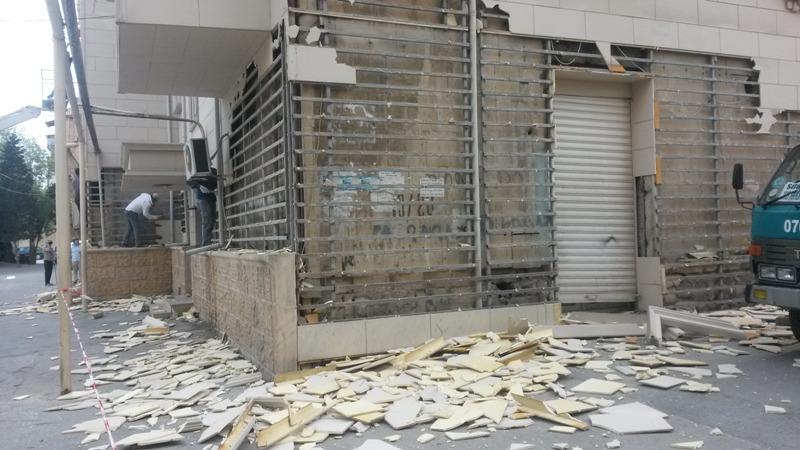 Sumqayıtda 10 binanın üzlüyü sökülür - VİDEOREPORTAJ