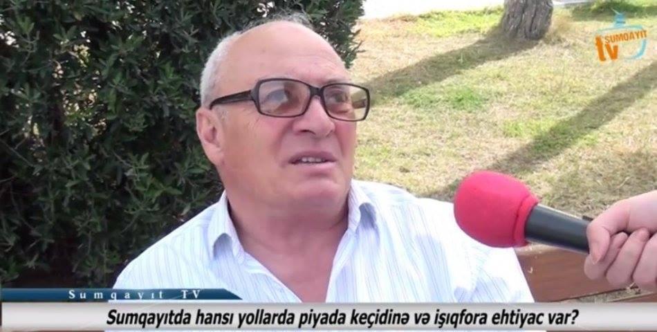 Sumqayıtda hansı yollarda piyada keçidinə və işıqfora ehtiyac var? - VİDEOSORĞU