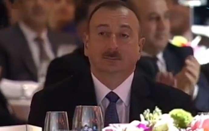 Nazirin sürprizi prezident İlham Əliyevi kövrəltdi -VİDEO