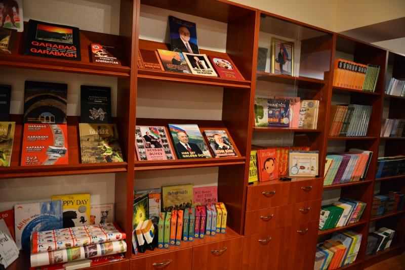 Koreya şirkəti Sumqayıtda yeni kitabxana açdı – FOTOLAR