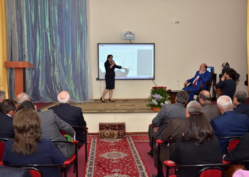 Sumqayıtda elektron dərs vəsaitinin təqdimatı olub - FOTOLAR