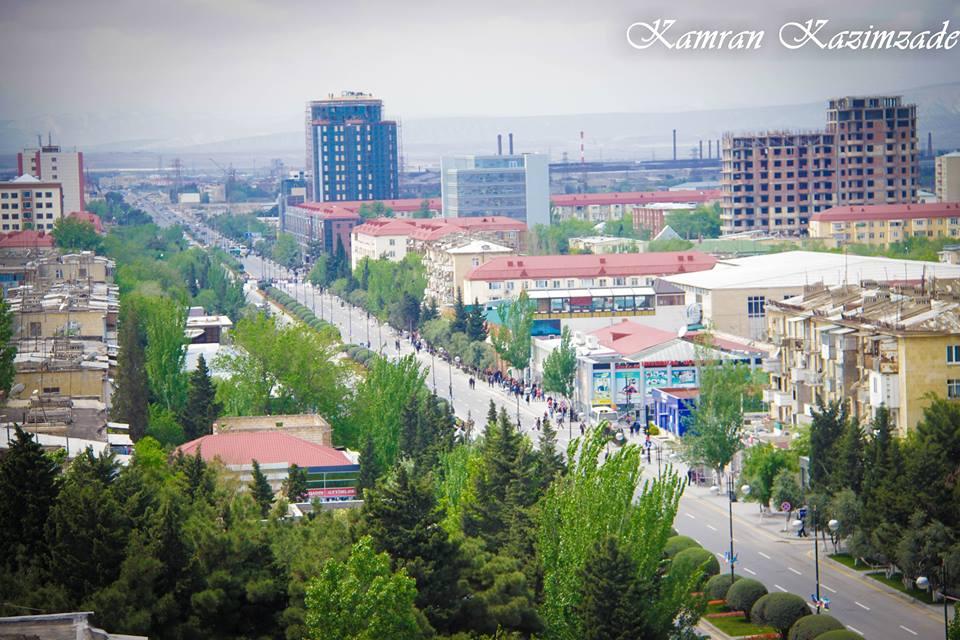 Sumqayıt - sabaha inamla boylanan şəhər