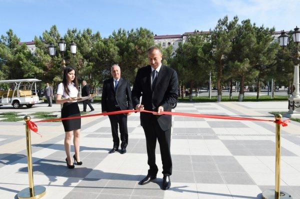 İlham Əliyev  Sumqayıtda Şahmat Məktəbinin açılışında iştirak edib - FOTO