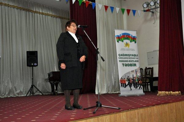 Sumqayıtda gənclərin hərbi xidmətə həvəsləndirilməsi məqsədi ilə tədbir keçirilib -FOTOLAR