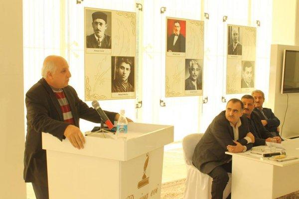 """Sumqayıtlı şairin """"Sözüm üşüyür"""" adlı kitabının təqdimatı keçirilib -FOTOLAR"""