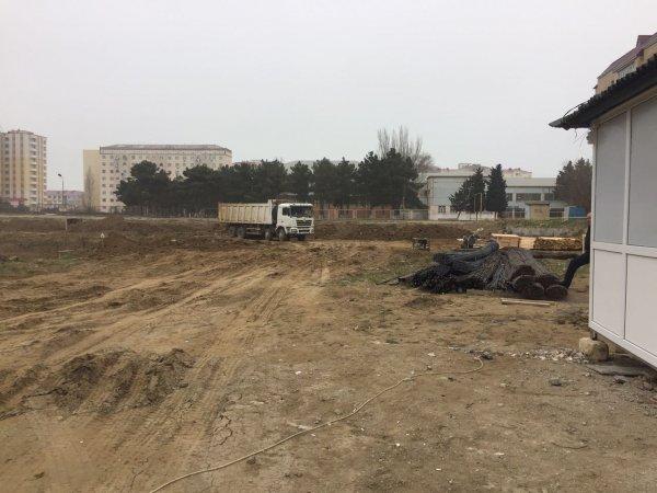 Sumqayıtda YAP-ın yeni binası - FOTOLAR