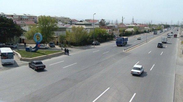 Bakı-Sumqayıt yolunun təmirə bağlanan hissəsində hərəkət bərpa olunub