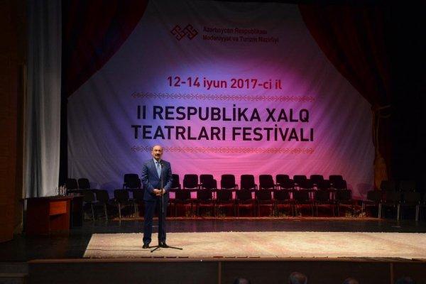"""""""28 May"""" mədəniyyət evinin nəzdində fəaliyyət göstərən """"Xalq teatrı""""ndan yeni uğur - FOTOLAR"""