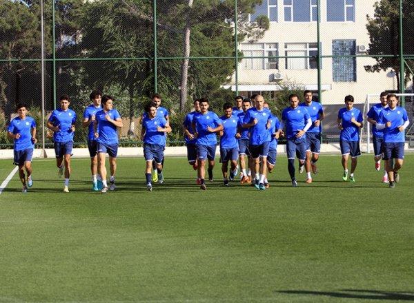 """""""Sumqayıt"""" futbol klubu yeni mövsümün hazırlıqlarına başlayıb"""