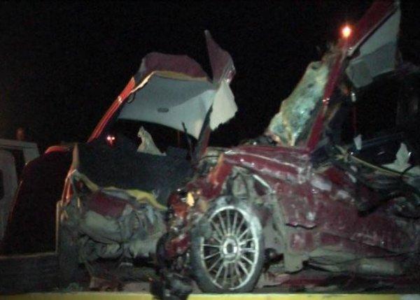 Dəhşətli avtomobil qəzası: ölüm anı telefonla çəkildi - VİDEO