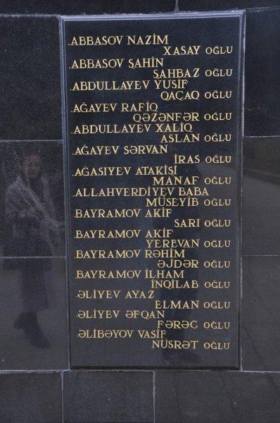 Sumqayıtdan Dağlıq Qarabağ münaqişəsində itkin düşənlər - ADLAR