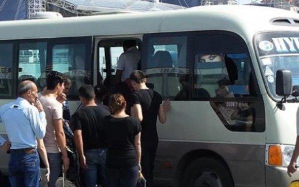 Saray avtobuslarının Sumqayıta girişinə qadağa qoyulub?  -RƏSMİ AÇIQLAMA