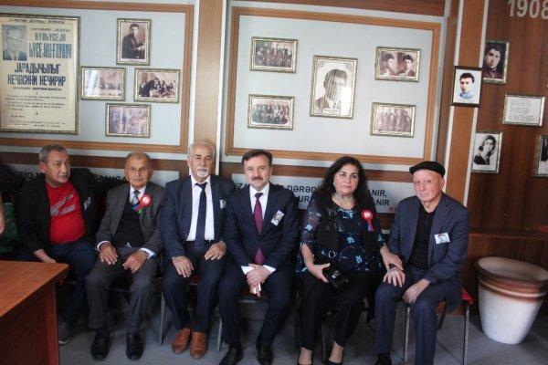 Xızı rayonunda Mikayıl Müşfiqin 110 illik yubileyi ilə bağlı tədbir keçirilib - FOTOLAR