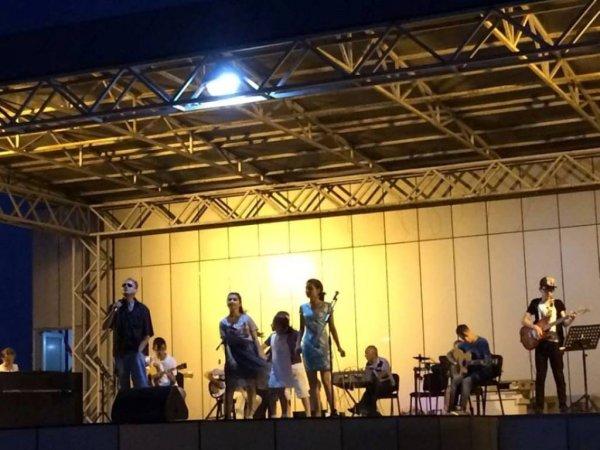 Sumqayıt bulvarında konsert keçirilib