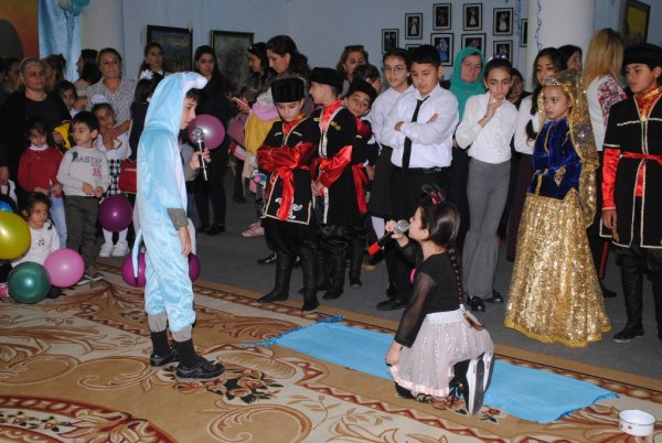 Sumqayıtda Uşaq Mütaliəsi Festivalı keçirilib - FOTOLAR