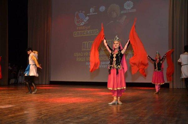 "Sumqayıtda ""Alovlu Qafqaz"" - FOTOLAR"