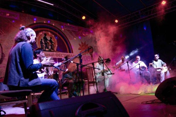 """""""Rövşən"""" ritm qrupu Samarada keçirilən 15-ci Beynəlxalq ritm festivalında uğurla çıxış edib - FOTOLAR"""