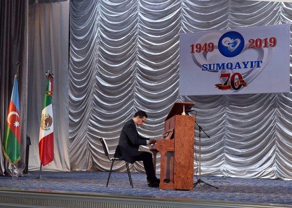 Rikon Sumqayıtda konsert verib - FOTO