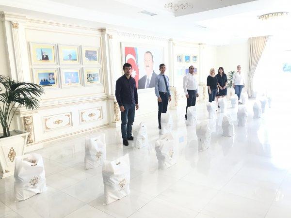 YAP Sumqayıt təşkilatı ahılları unutmadı - FOTOLAR