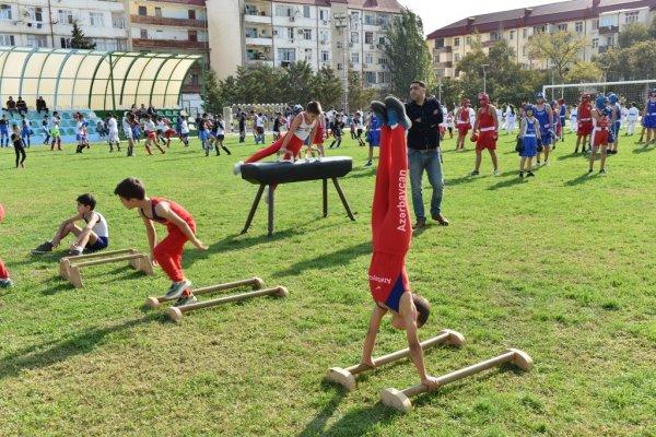 Sumqayıtda İdman Festivalı keçirilib - FOTOLAR