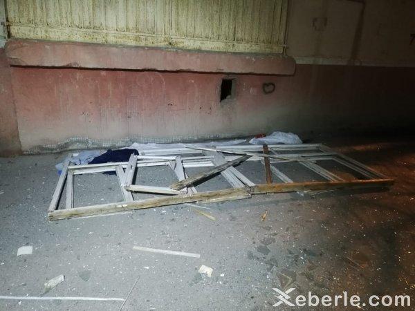 Sumqayıtda yaşayış binasında partlayış: yaralılar var - FOTOLAR