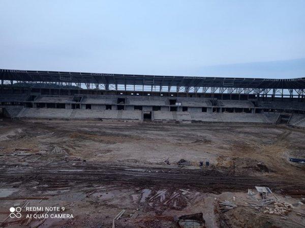 Mehdi Hüseynzadə adına Sumqayıt şəhər stadionundan son görüntülər - FOTOLAR