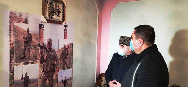 Deputat Müşfiq Məmmədli Xızıda şəhid və qazi ailələrini ziyarət edib - FOTOLAR