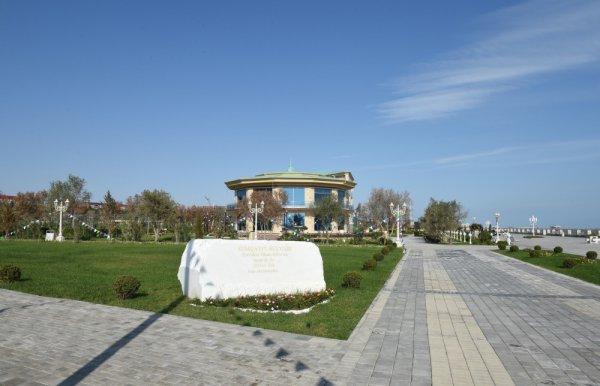Prezident Sumqayıt Dənizkənarı Bulvarının açılışında iştirak edib - FOTO