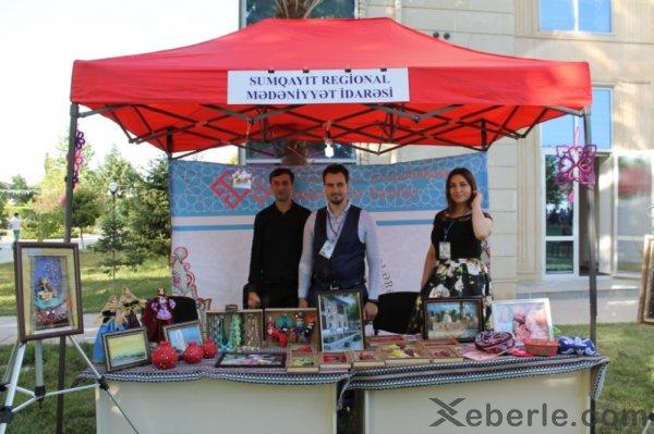 """Sumqayıtın musiqi kollektivi """"Bölgələrdən-bölgələrə"""" festivalında - FOTOLAR"""