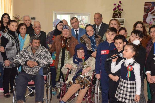 Sumqayıt Regional Mədəniyyət İdarəsi sosial xidmət müəssisəsində tədbir keçirib -FOTOLAR