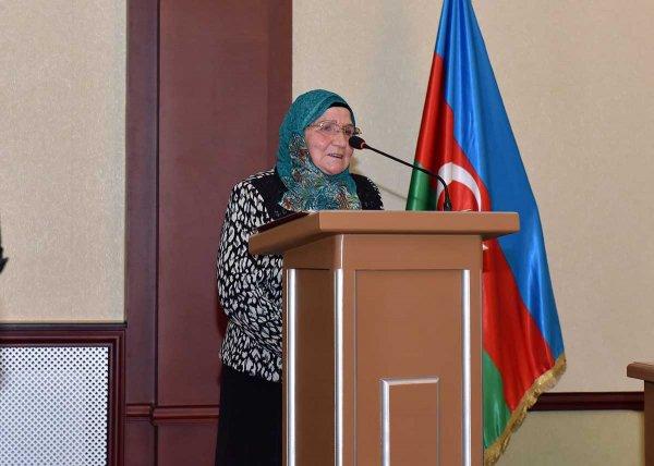 Sumqayıtda Azərbaycanın ilk qadın metallurqunun 100 illiyi qeyd olunub - FOTOLAR